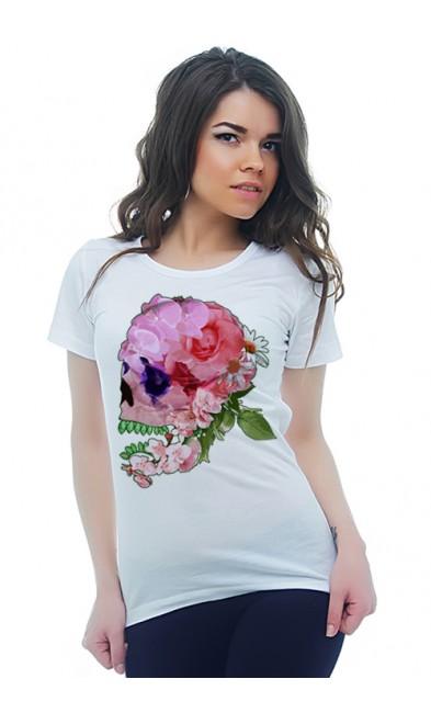 Женская футболка Коллаж из роз