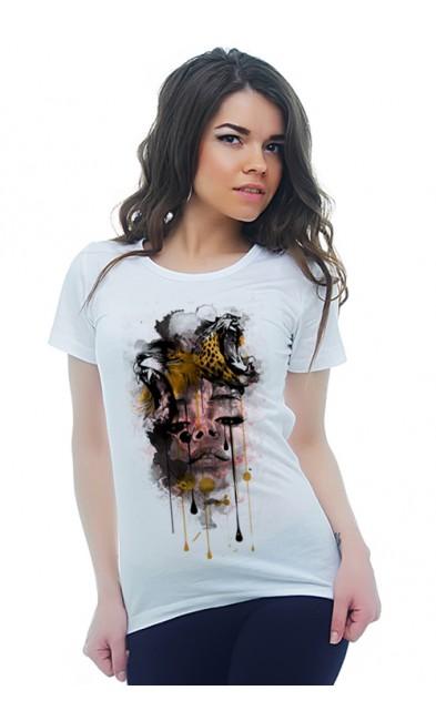Женская футболка Дикая Драма