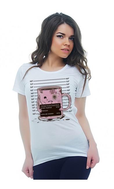Женская футболка Подозреваемый