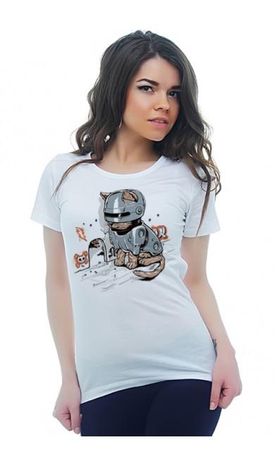 Женская футболка Ожидание