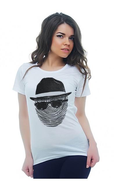 Женская футболка Отпечаток
