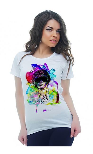 Женская футболка Человеческая драма