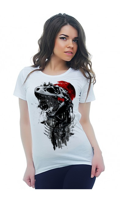 Женская футболка Юрский период