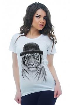 Тигр в шляпе