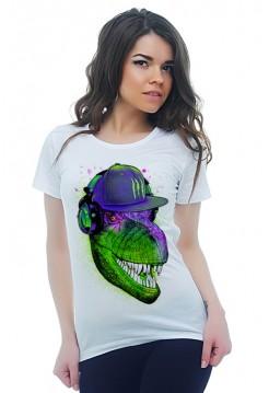 Динозавр - меломан