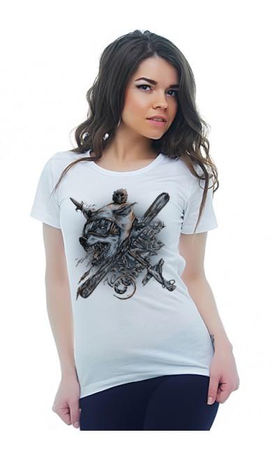 Женская футболка Волколак