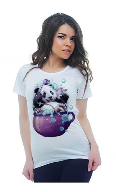 Женская футболка Водные процедуры