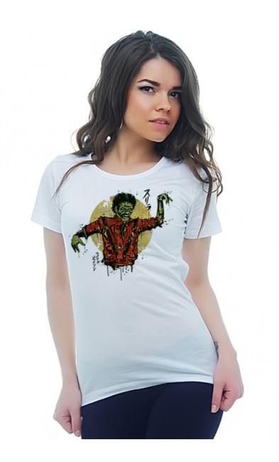 Женская футболка Триллер