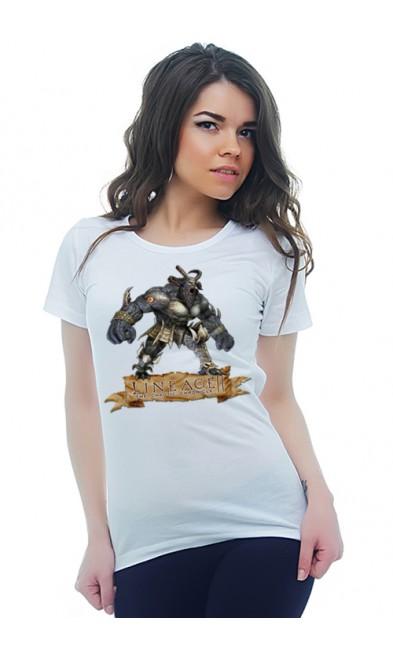 Женская футболка LINEAGE II