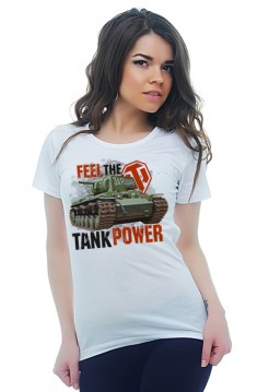 FEEL THE TANK POWER