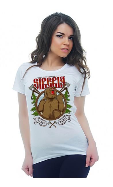 Женская футболка Siberia