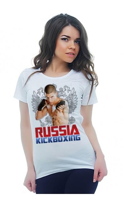 Женская футболка RUSSIA KICKBOXING
