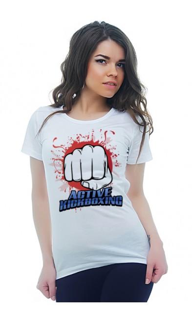 Женская футболка ACTIVE KICKBOXING