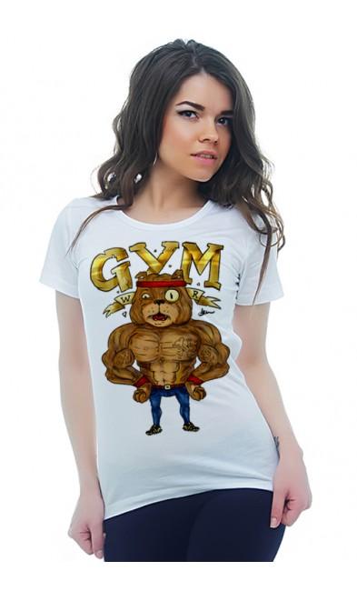 Женская футболка GYM