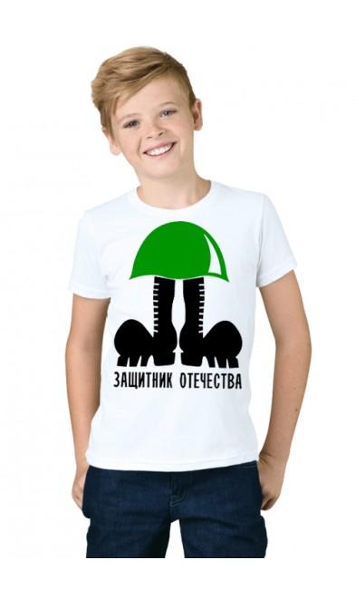 Детская футболка Защитник отечества!