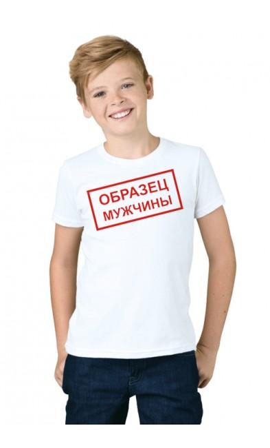 Детская футболка Образец Мужчины