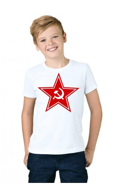Детская футболка Красная Звезда