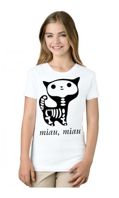 Детская футболка Miau, miau