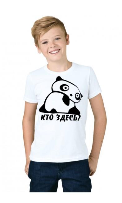 Детская футболка Кто здесь?