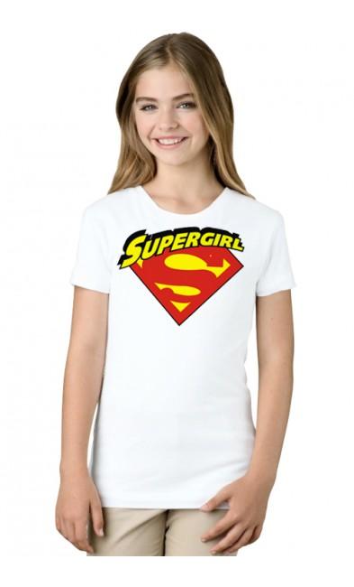 Детская футболка Supergirl