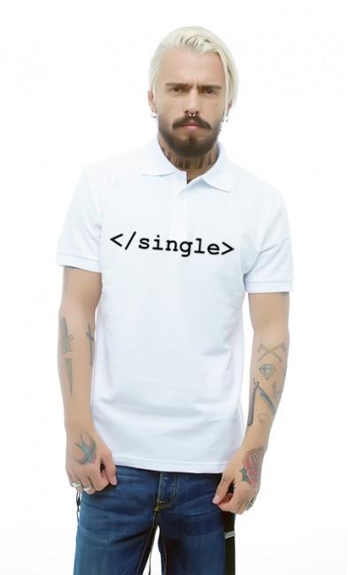 Мужская поло Single