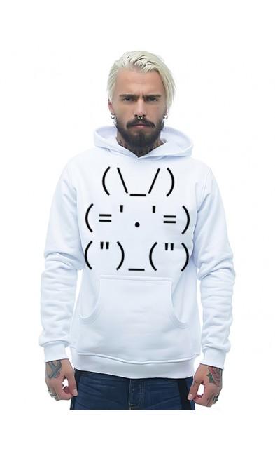 Мужская толстовка Админский кролик