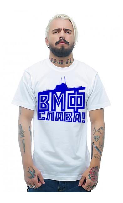 Мужская футболка ВМФ Слава!