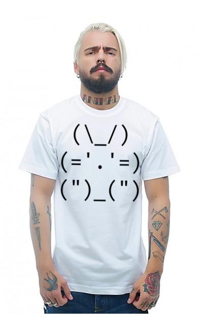 Мужская футболка Админский кролик