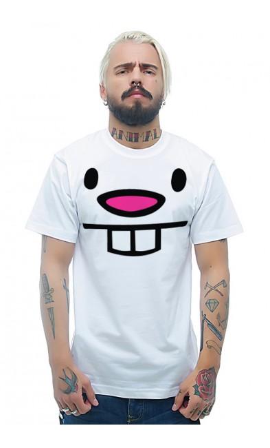 Мужская футболка Кролик