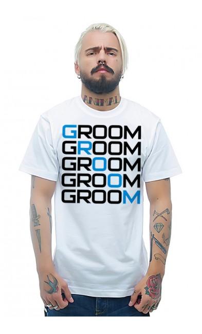 Мужская футболка Жених