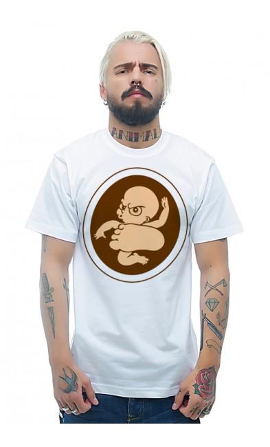 Мужская футболка Будущий кикбоксер