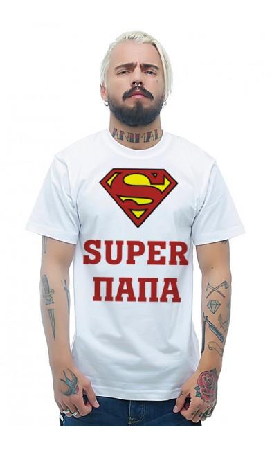 Мужская футболка Super папа