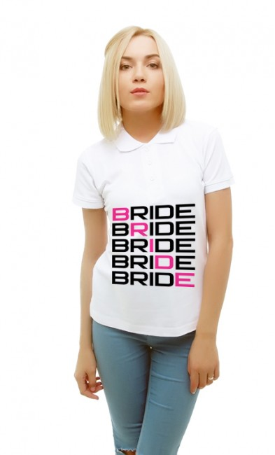 Женская поло Bride