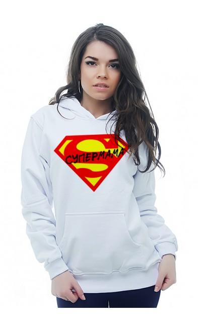 Женская толстовка Супермама